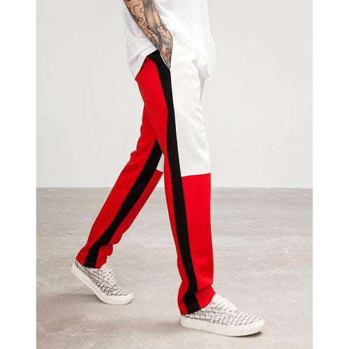 """THE EIGHTH"" STRIPED SWEAT PANTS"