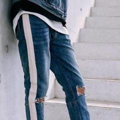 DISTRESSED RUGER DENIM