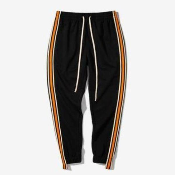 VINTAGE STRIPED JOGGERS WITH BROADCLOTH