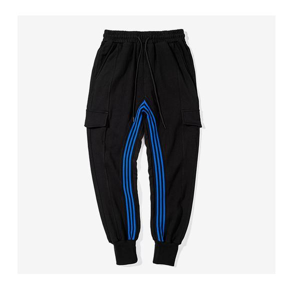 BLUE STRIPES SWEATPANTS