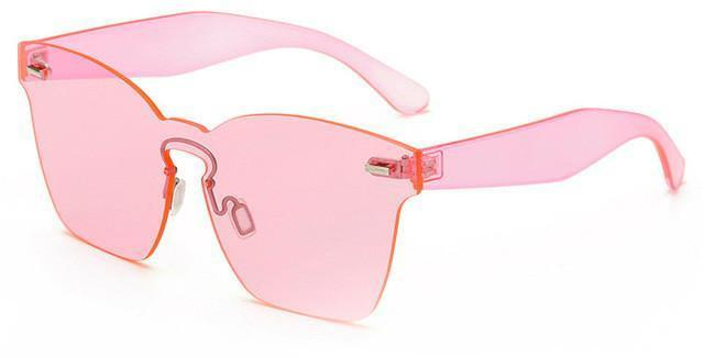 Women Glasses - STELLA CLEAR PINK