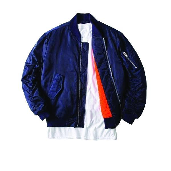 MA1 RUCH SATIN BOMBER
