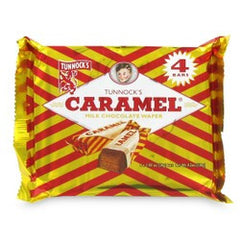 Caramel Wafers (4pack)
