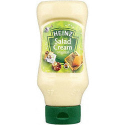 English Salad Cream Original Squeezy Top Down 425g