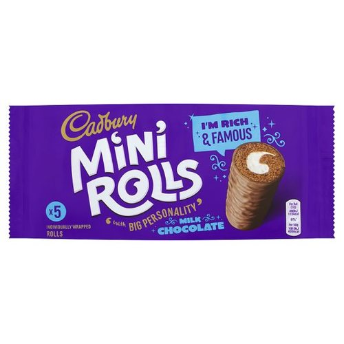Chocolate Mini Rolls (5pk)