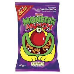 Monster Munch Pickled Onion 40g BBD 2/1/21