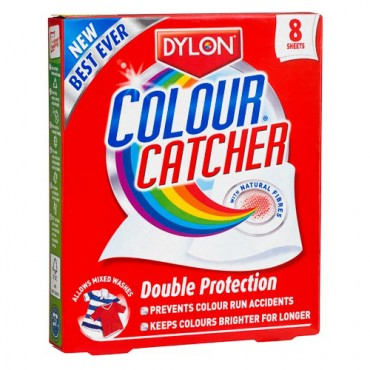 Colour Catcher 8 sheets-No More Colour Runs in your wash