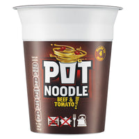 Beef and Tomato Pot noodle