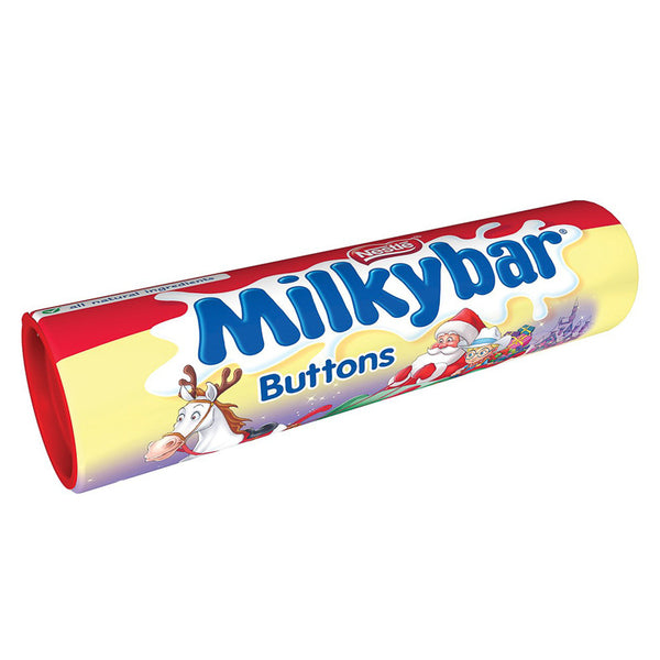 Milkybar Buttons Christmas Giant Tube