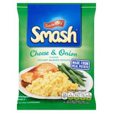 Smash Cheese & Onion - instant mashed potato