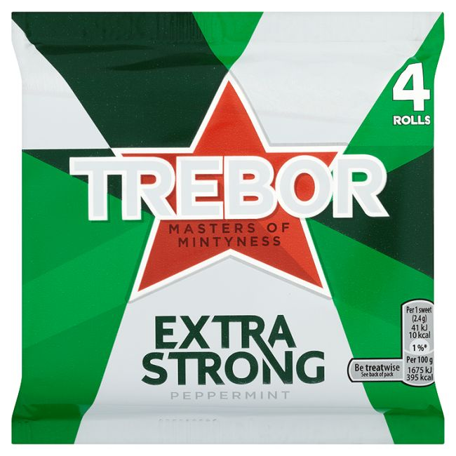 Extra Strong Peppermint (4pk)