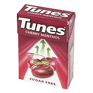 Tunes Cherry nothing beats them to soothe your throat