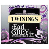 Earl Grey Tea Bags 100s-Proper English Twinings