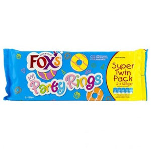 Party Rings (Twin pack) 2x 125g