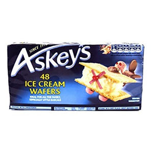 Askeys Ice Cream Wafers (48 Wafers)