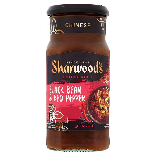 Sharwoods Stir Fry Black Bean and Red Pepper Sauce