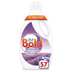 Bold 2 in 1 Lavender & Camomile 57 Washes