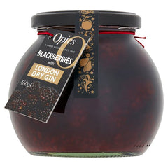 Blackberries in London Dry Gin