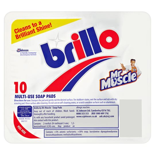Brillo soap pads (10 pads)