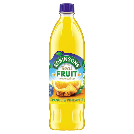 Orange & Pineapple NO ADDED SUGAR 1Ltr