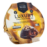 Luxury Christmas Pudding 400g