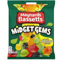 Midget Gems   Maynards Barretts 160g