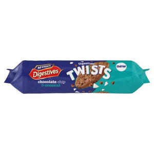 Digestive Twists Chocolate Chip & Coconut  276g