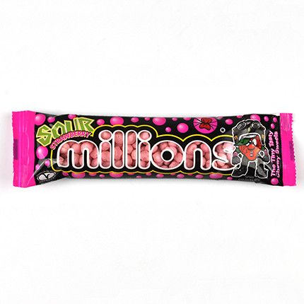 Millions Sour Strawberry40g