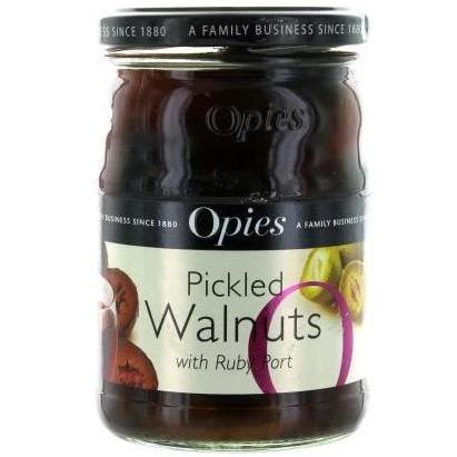 Pickled Walnuts in Port