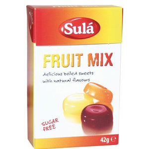 Sula Fruit Mix Sugar Free Sweets 42g