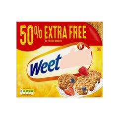 Weet***x 24  (+50% free) = 36biscuits