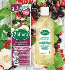 Zoflora Very Berry 250ml (Makes 10 Litres)