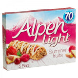 Light Summer Fruits 5bars 70 calories each