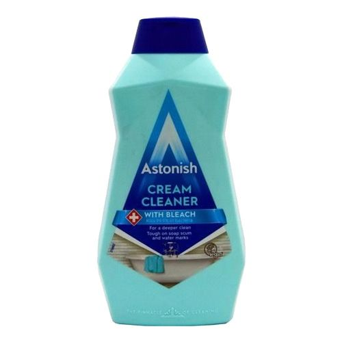 Astonish Cream Cleaner (With Bleach) 500ml