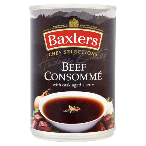 Luxury Beef Consomme Soup