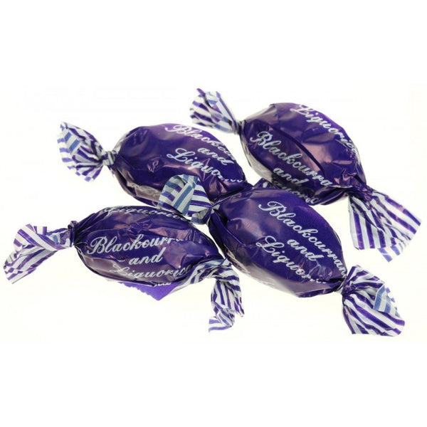 Blackcurrant & Liquorice wrapped (100g)