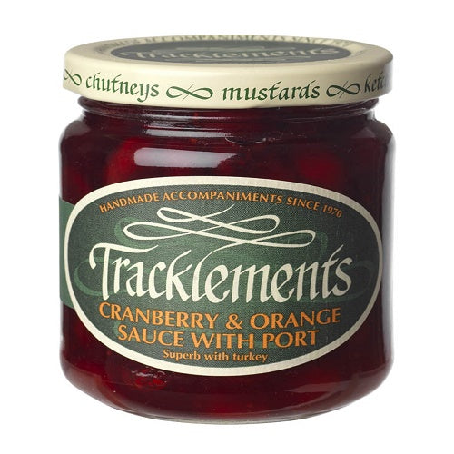 Tracklements Cranberry with Port Sauce