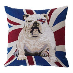 English Bull Dog Cushion