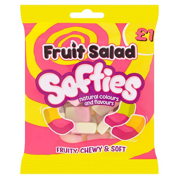 Barratt Fruit Salad Softies 120g