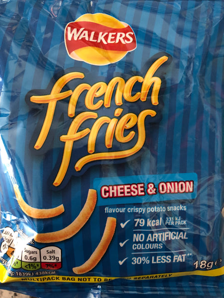 French Fries Cheese & Onion