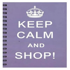 Keep Calm & Shop Notebook :)