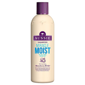 Aussie Miracle Moist Shampoo - 330ml