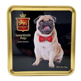 Pug Tin Filled with Luxury Fudge 100g
