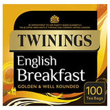 Twinings English Breakfast Tea 100 Bags