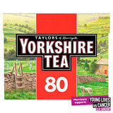 Yorkshire Tea 80s-Made in UK !!! Proper Tea