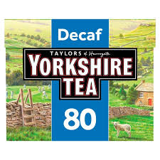 Yorkshire Decaffeinated 80 Tea Bags