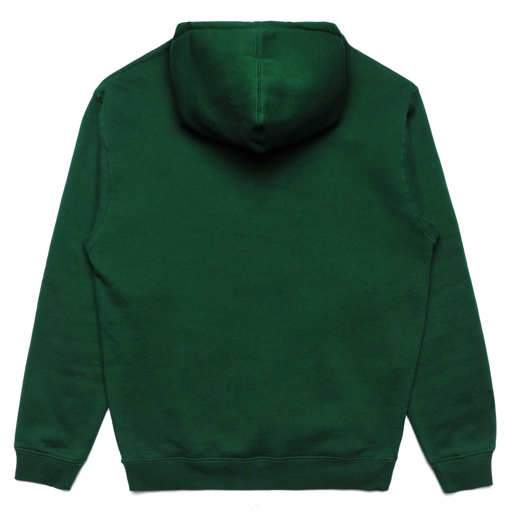 CHEST LOGO HOODIE - GREEN