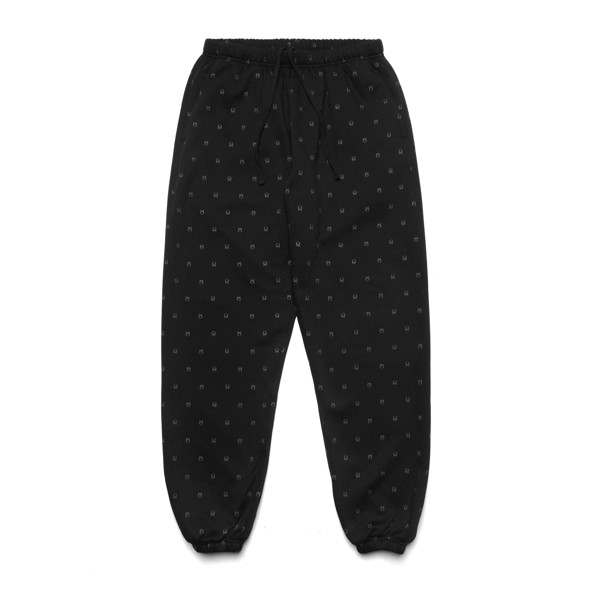 ALL-OVER SWEATPANT - BLACK