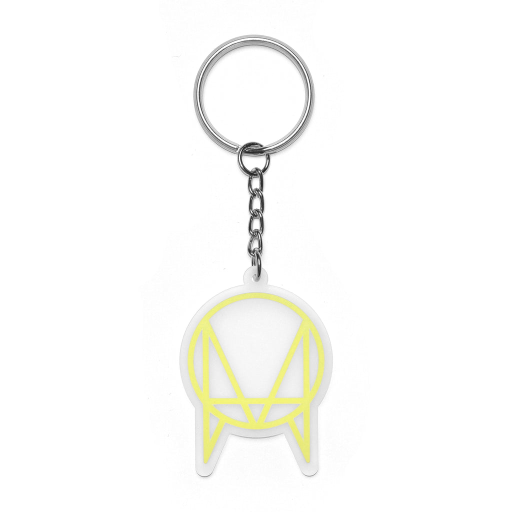 OWSLA LOGO 3M KEYCHAIN - GLOW IN THE DARK