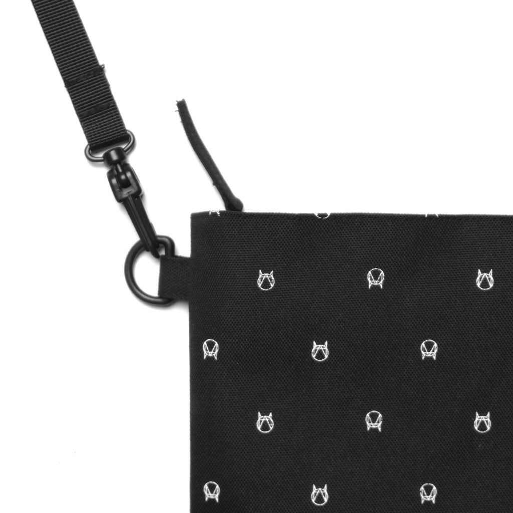 ALL-OVER SIDE BAG - BLACK